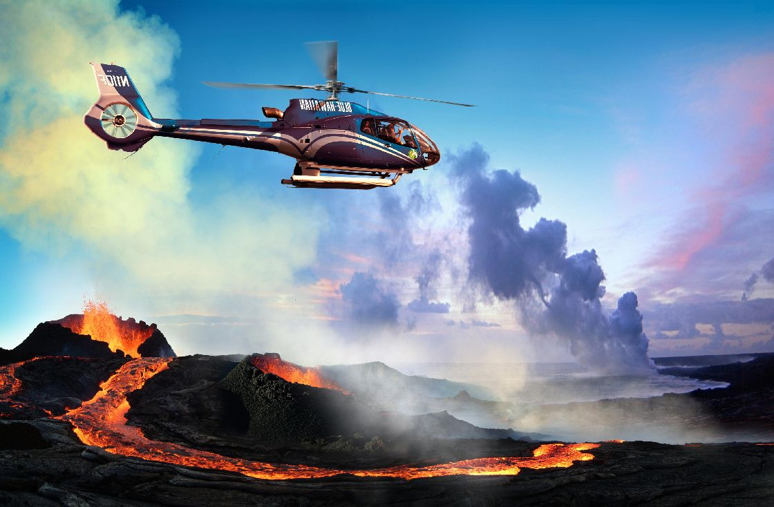 Volcano Helicopter Tours Hawaiian Explorer