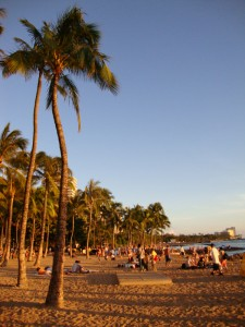 Honolulu's scenic beaches