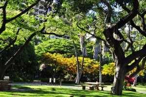 Honolulu parks and other recreational sites