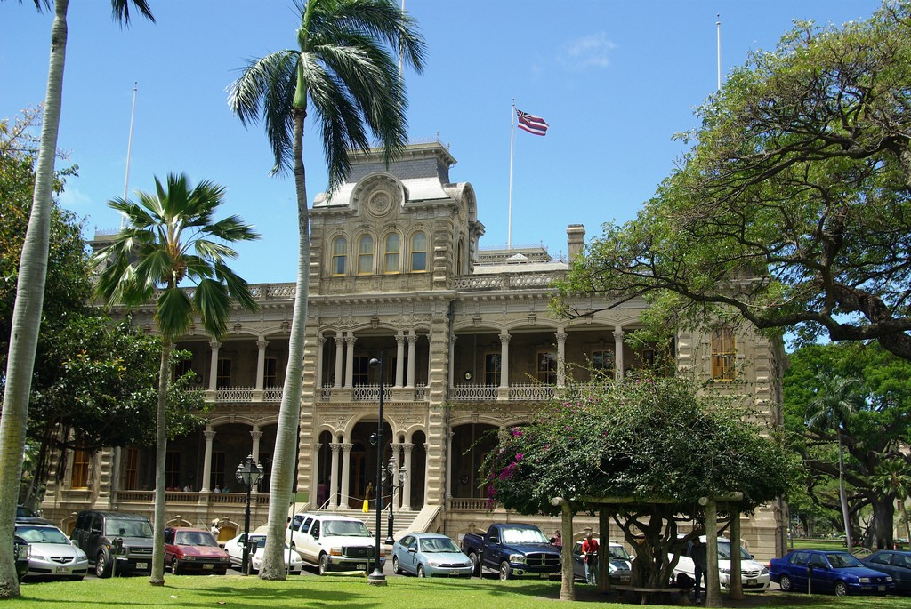 Iolani Palace District Honolulu