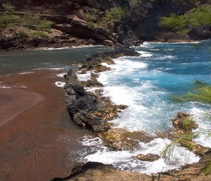 Red Sand Beach Hawaii