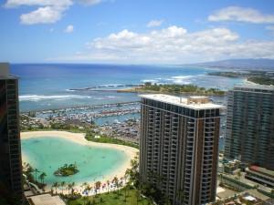 Sprawling condo on the Hawaiian beach