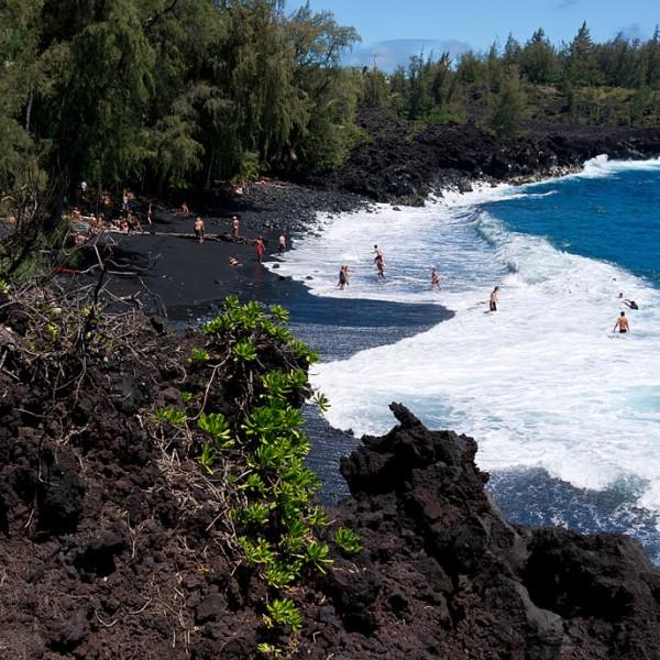 Big Island Beaches: Kehena Beach Big Island