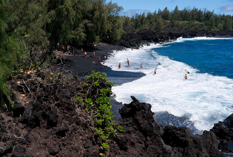 Kehena Beach Big Island