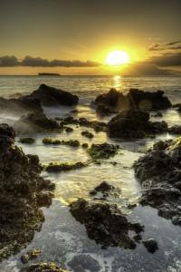 Molokini sunset view