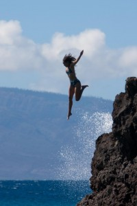 Maui Cliff Jumping