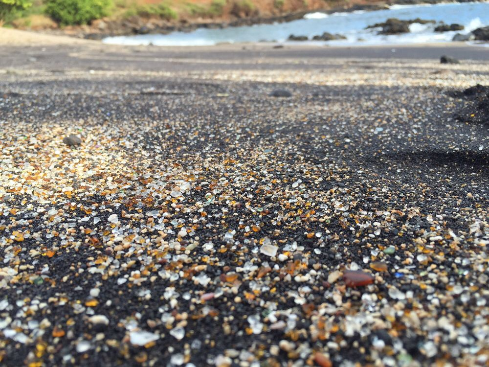 Glass Beach of Kauai