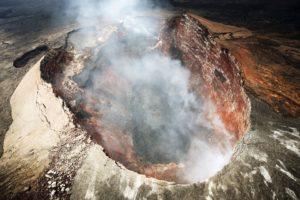 Active Volcano at Hawaii