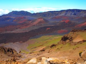 Active Volcano at Hawaii